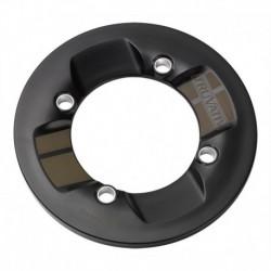 OSŁONA ŁAŃCUCHA ROCKGUARD 36 z. 104 BCD 10mm czarny z pasem